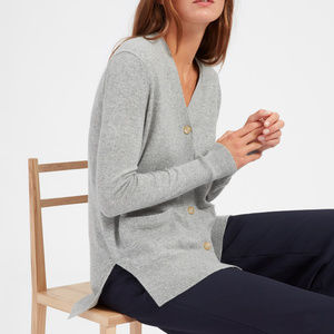 EVERLANE Cashmere Boyfriend cardigan sweater